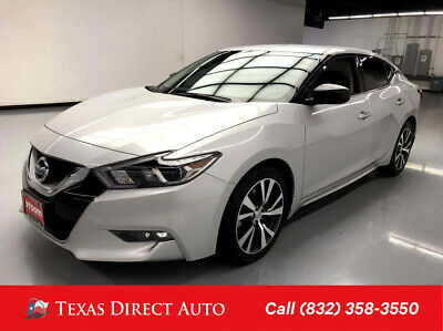 2017 Nissan Maxima S Texas Direct Auto 2017 S Used 3.5L V6 24V Automatic FWD Sedan Premium