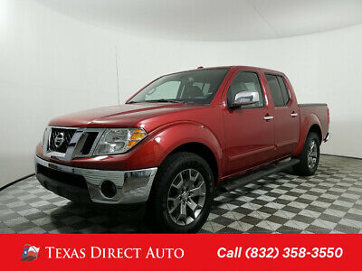 2016 Nissan Frontier SL Texas Direct Auto 2016 SL Used 4L V6 24V Automatic RWD Pickup Truck