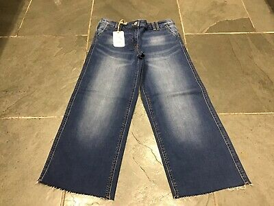 Girl's Next Denim Culotte Jeans, Age 11 Years, BNWT, Exc Con