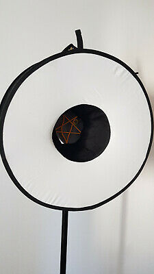 45cm Round Universal Collapsible Magnetic Ring Flash Diffuser Soft Box Portrait