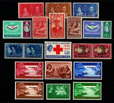 British  Bechuanaland  Old  Mint & Used  Collection.                      Bech 3