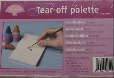 Lot of 2 of Tear off palette by Pergamano