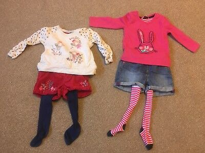 George Shorts , Long Sleeve Tops And tights Age 1 - 1:25 Years