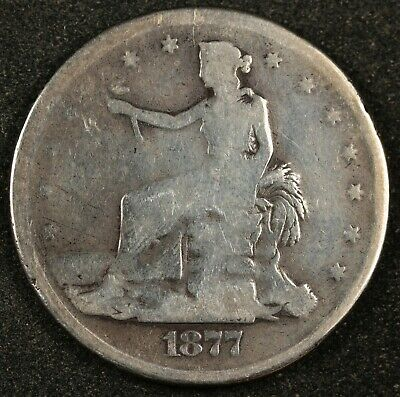 "1877-s Trade Dollar.  ""Potty Dollar"".   142845"