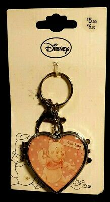Disney Key ring - metal - Winnie the Pooh & Eeyore mirror locket