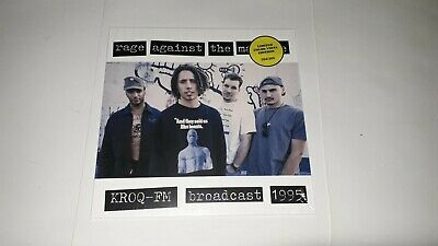 Rage Against The Machine Lp Kroq
