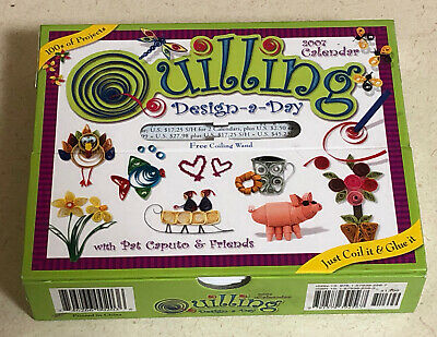 Quilling Design-a-Day 2007 Calendar with Pat Caputo & Friends Missing Tool