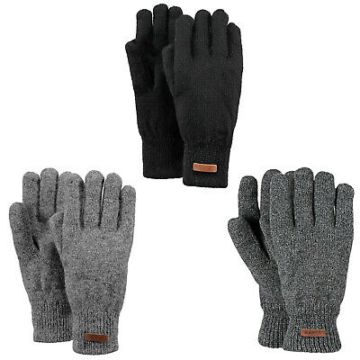 Barts Men's Gloves - Haakon Gloves, Padded, Sheep's Wool, M/L, L/XL