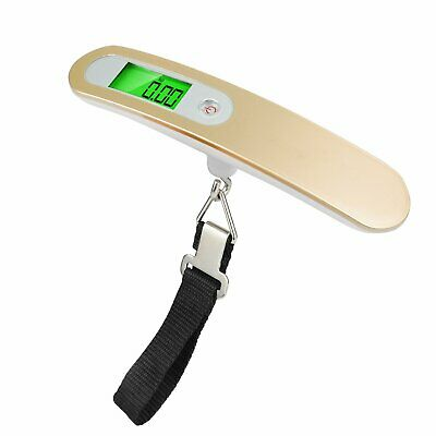 mingshang Portable Digital Luggage Scale Handheld Baggage Weight 110LB Travel