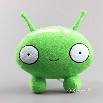 10'' Final Space Mooncake Green Plush Figure Toy Soft Stuffed Doll for Kids Gift