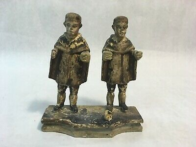 Antique Wooden Hand Carved Santos Figurines