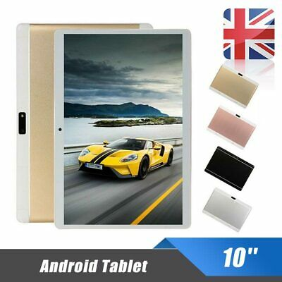 10'' Android Tablet PC 8.0 6+128GB 10 Core Dual SIM Camera GPS WIFI Bluetooth