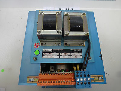 Seidel 54-240/40, 54-69527 Frequency Converter with Cards S. And
