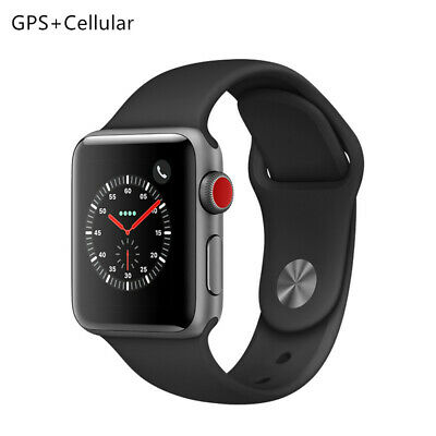 Apple Watch iwatch Series3 38/42mm Sport Band GPS cellular 16GB Black/White/Pink
