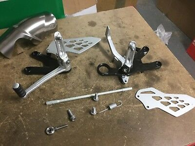 BMW S1000R Riders Foot Hangers Rearsets 2010-14