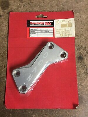 Kawasaki Z750 Aluminium Top Handle Bar Clamp NEW 2007-12