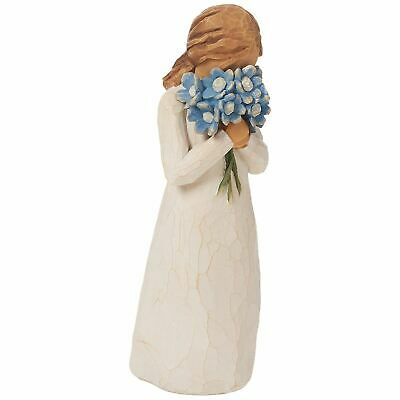 Willow Tree Forget Me Not Resin Figurine Family Keepsake Friends Ornament Gift