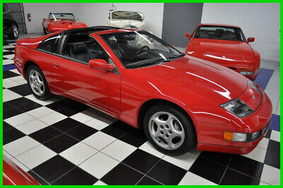 1994 Nissan 300ZX ONLY 17K MILES - ONE OWNER - ALL STOCK - T-TOPS - 5SP MANUAL AMAZING CONDITIION - MOST DESIRABLE COLORS PLUS MANUAL AND T-TOPS