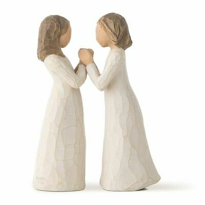 Willow Tree Sisters By Heart Figurine Resin Friendship Keepsake Ornament Gift