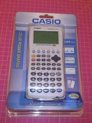 Calculator Casio CFX-9850GC PLUS - New - Sealed -it's not fx-880p