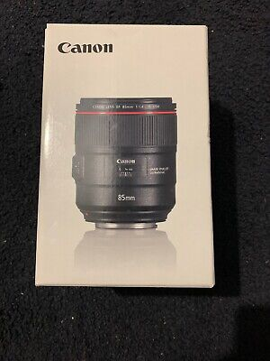 Canon EF 85 mm F/1.4L IS USM Lens - Black