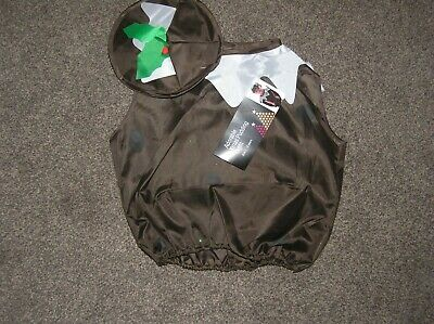 Adorable Fancy Dress Christmas Pudding Outfit - Age 2-3 Years - New With Tags