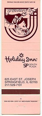 Holiday Inn Motor Lodge, Springfield, Illinois Matchbook