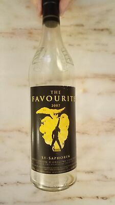 Freddie Mercury Wine Bottle - The Favourite St. Saphorin 2007 Empty Queen