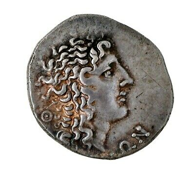 70 BC Macedon AR Tetradrachm Under Roman Rule Aesillas Quaestor 16.7g