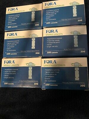 Fora Sterile Lancets 30G 4 Boxes of 100 815-5084
