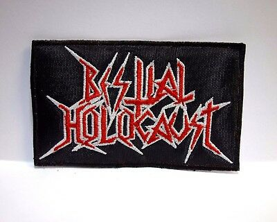 bestial holocaust EMBROIDERED PATCH