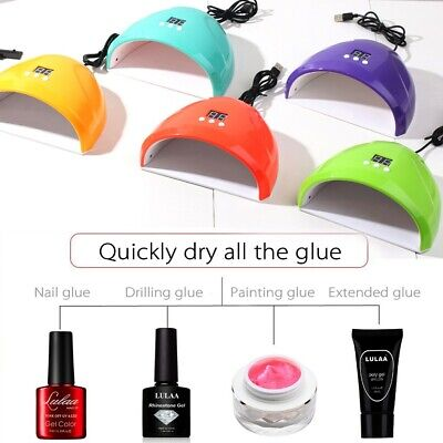 Nail Dryer USB Lamp UV Light for Nails Polish Machine Electric Manicure 36W K4