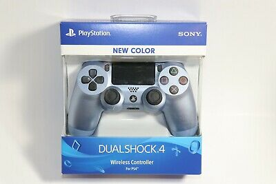Official Sony PLAYSTATION 4 PS4 DualShock 4 Wireless Controller TITANIUM BLUE V2