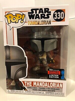 Funko Pop Star Wars The Mandalorian 2019 Fall Convention shared exclusive Rare