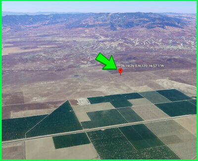 Coalinga Ca Land - Fresno County - Residential Lot - California