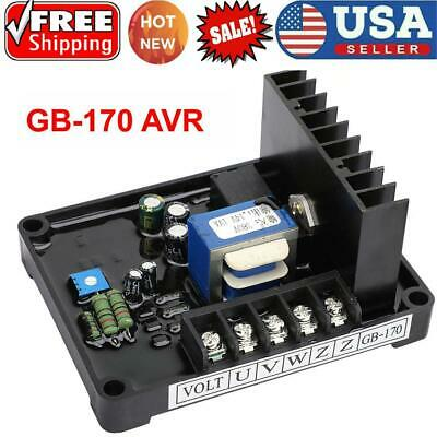 New 3 Phase Brush Generator Automatic Voltage Regulator AVR GB-170 Fast delivery