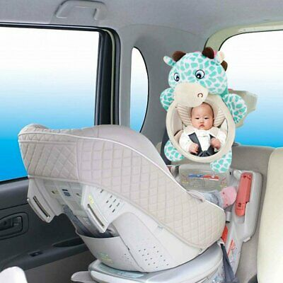 Baby Mirror Car Back Seat Cover for Infant Child Rear Ward Safety View Toys KN