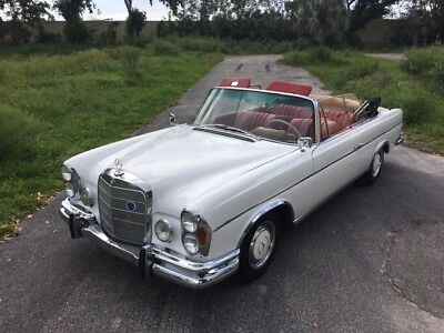 1963 Mercedes-Benz 200-Series  1963 Mercedes Benz 220SE Convertible DB050