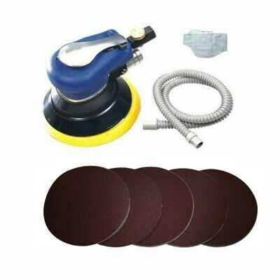 rdgtools air palm sander with 50 sanding discs many grits available