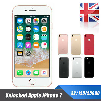 Unlocked Apple iPhone 7 SIM Free Mobile Smartphone 32/128/256GB New & Sealed Hot