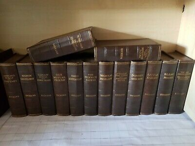 collection of Charles Dickens classic novels books by Odhams press Ltd Greycaine
