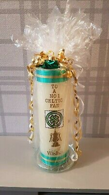 Christmas / Xmas Personalised Celtic Fan Candle
