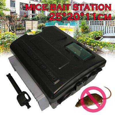 Rat Mice Bait Station Mouse Bait Station Tamper Proof box Rodent Control Home