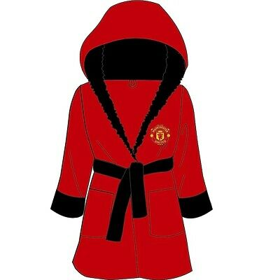 Boys Kids Official Football Club Robe Dressing Gown Age Size 3 to 12 Years NEW