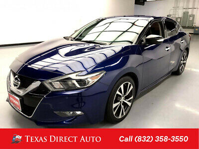 2017 Nissan Maxima 3.5 SV Texas Direct Auto 2017 3.5 SV Used 3.5L V6 24V Automatic FWD Sedan Premium