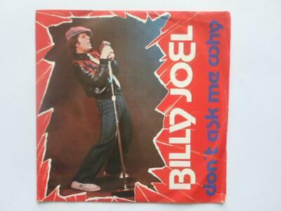 """Billy Joel Don't Ask Me Why 7"""" CBS CBS8747 EX/VG 1980 Italian pressing in pictur"""