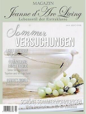 Jeanne d`Arc Living Magazin, Vintage, Brocante, Shabby Chic, French, Nr. 4  2018
