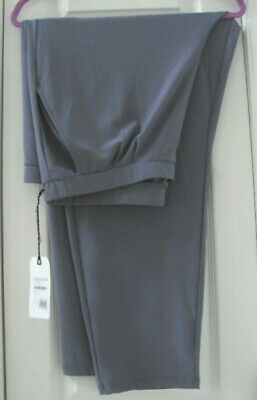 New Tag Nordstrom Leith 2X Bluish-Gray Elastic Waist Pullon Ankle Pants #1X1820W