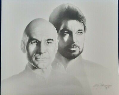 President Donald Trump Lithograph of Charcoal Drawing Signed by Gary Saderup