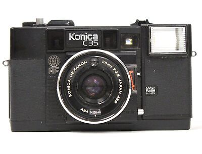 KONICA C35 35mm Camera With Konica 38mm f/2.8 Lens  - N35